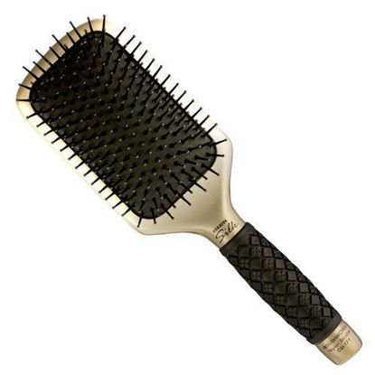 Brushworx - Keratin Silk Ceramic -  Paddle Hair Brush