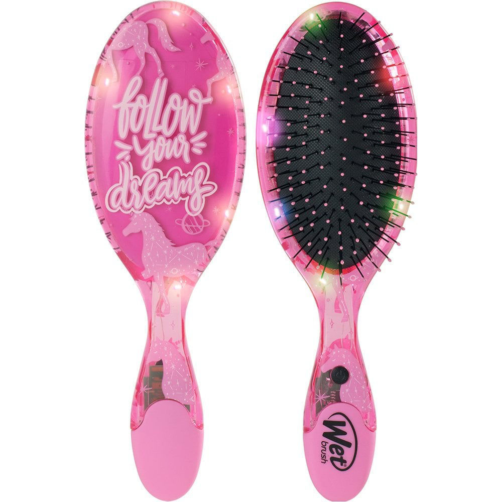 Pink Unicorn Wet Brush LED
