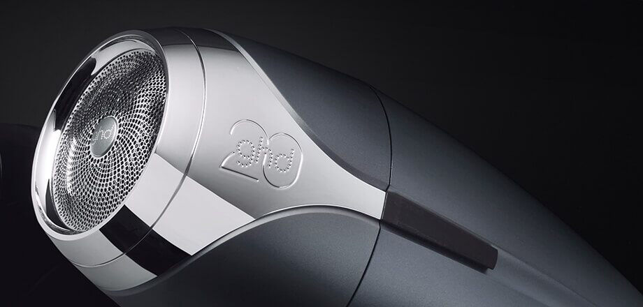GHD - helios™ hair dryer in ombre chrome